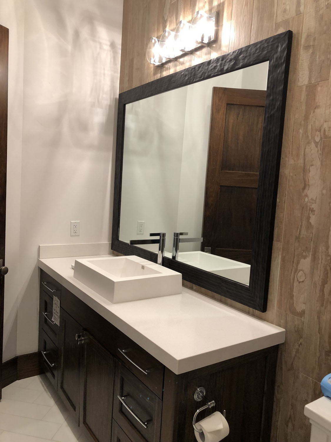Custom framed mirror by Park City Frame