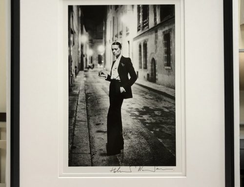 Helmut Newton silver gelatin photo